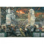 Puzzle  Pomegranate-AA421 Diego Rivera: Detroit Industry