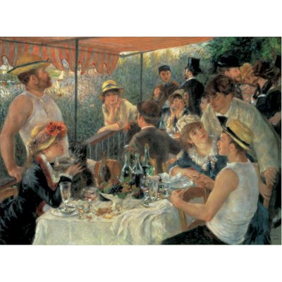 Puzzle Pomegranate-AA623 Renoir Auguste: Lunche on of the Boating Party