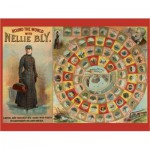 Puzzle  Pomegranate-AA741 Round the World with Nellie Bly