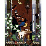 Puzzle  Pomegranate-AA775 Charley Harper: The Sierra Range