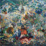 Puzzle  Pomegranate-AA808 Joseph Stella: Battle of Lights, Coney Island