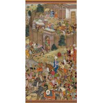 Puzzle  Pomegranate-AA816 Surdas Gujarati: Babur Setting Out from Kabul