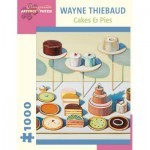 Puzzle  Pomegranate-AA834 Wayne Thiebaud - Cakes and Pies