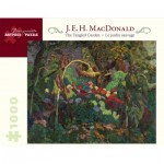 Puzzle   E. H. MacDonald - The Tangled Garden