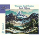 Puzzle   Thomas Hart Benton - Trail Riders, 1964/1965