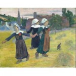 Puzzle   Paul Gauguin - Breton Girls Dancing, 1888