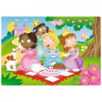 Ravensburger-05612 My First Outdoor Puzzles - Süße Prinzessinnen