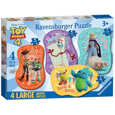 Ravensburger-06835 4 Puzzles - Toy Story
