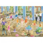 Puzzle  Ravensburger-08779 Tanzstunde