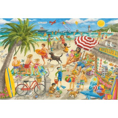 Puzzle Ravensburger-10842 XXL Teile - Sunshine at Shelly's