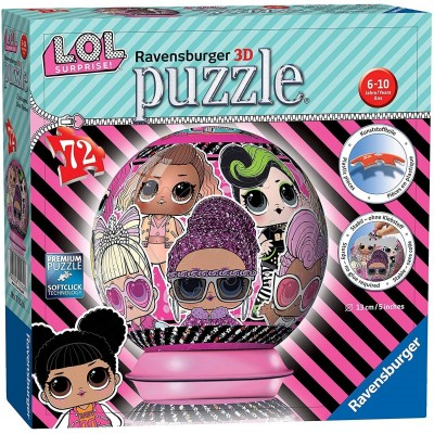 Ravensburger-11162 3D Puzzle - LOL Surprise!