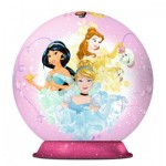 Ravensburger-11809 3D Puzzle-Ball - Disney Princess