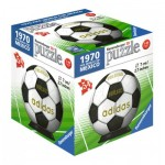 Ravensburger-11937-01 3D Puzzle-Ball - 1970 Fifa Word Cup