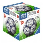 Ravensburger-11937-08 3D Puzzle-Ball - 1998 Fifa Word Cup