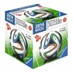 Ravensburger-11937-12 3D Puzzle-Ball - 2014 Fifa Word Cup