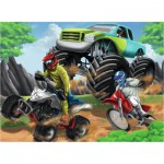 Puzzle  Ravensburger-12821 Power Vehicles
