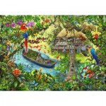 Ravensburger-12924 Exit Puzzle Kids - The Expedition