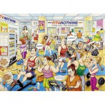 Puzzle  Ravensburger-14699 Best of British - Fit 4 Nothing Gym