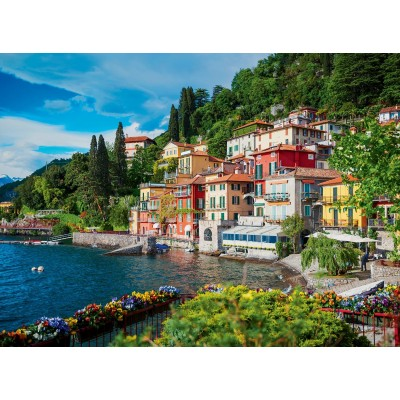Puzzle Ravensburger-14756 Comer See, Italien