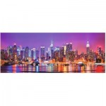 Puzzle  Ravensburger-15078 Manhattan Lights