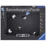 Puzzle  Ravensburger-15260 Krypt Black