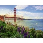 Puzzle  Ravensburger-15289 Golden Gate Sunrise