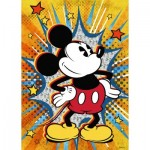 Puzzle  Ravensburger-15391 Retro Mickey