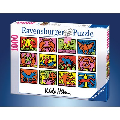 Puzzle Ravensburger-15615 Keith Haring: Retrospect