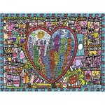 Puzzle  Ravensburger-16295 Rizzi: All that Love