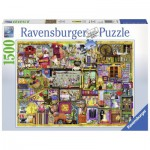 Puzzle  Ravensburger-16312 Colin Thompson: Bastelregal