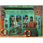 Puzzle  Ravensburger-16349 The Red Bicycle