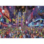 Puzzle  Ravensburger-16423 New Years in Times Square