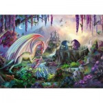Puzzle  Ravensburger-16707 Dragon Valley