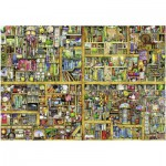 Puzzle  Ravensburger-17825 Colin Thompson: Magisches Bücherregal
