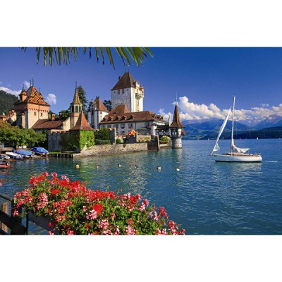 Puzzle Ravensburger-19139 Am Thunersee in Bern