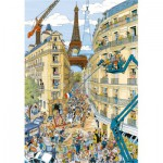 Puzzle  Ravensburger-19503 Paris