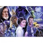 Puzzle  Ravensburger-19763 Star Wars Collection 1