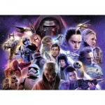 Puzzle  Ravensburger-19775 Star Wars Collection 4