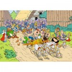 Puzzle  Ravensburger-19873 Asterix in Italien