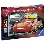 2 Puzzles - Cars 3