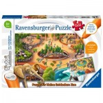 2 Puzzles - Tiptoi - Discover the Zoo