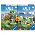 Ravensburger-21194 3 Puzzles +Memory - The Good Dinosaur