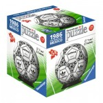 3D Puzzle-Ball - 1986 Fifa Word Cup