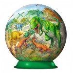 3D Puzzle-Ball - Dinosaurier