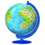 3D Puzzle - Globe in deutscher Sprache
