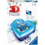 3D Puzzle - Herzschatulle - Underwater World