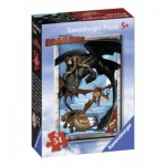 Ravensburger-72614-09436-5 Mini Puzzle - Dragons