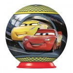 Ravensburger-79936-11920-02 3D Puzzle-Ball - Cars 3