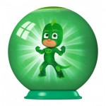 Ravensburger-79958-11924-02 3D Puzzle-Ball - PJ Masks