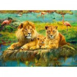 Puzzle   Lions in the Savannah